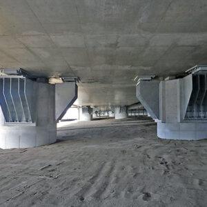 国道161号穴太高架橋(下)補強補修工事