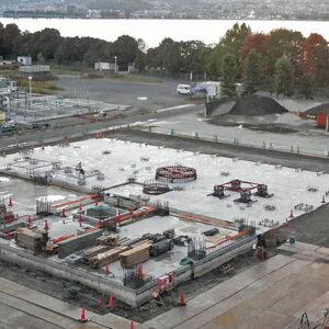 平成23年度 第2号 湖南中部浄化センター2号炉焼却ヤード基礎工事