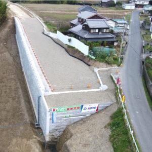 岩室北土山線補助道路整備工事