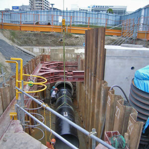 平成22年度 第5号 草津用水地区北側送水管路その1工事