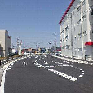 市道名坂・本綾野2号線道路整備工事