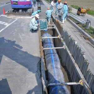 南部上水拡張事業緊急連絡管