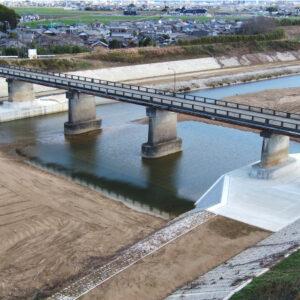 日野川広域河川改修工事