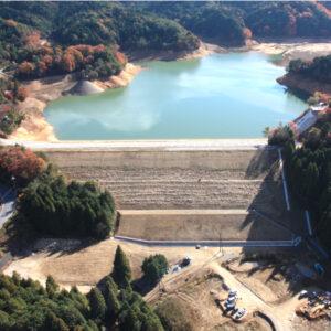 大原貯水池堤体改修工事